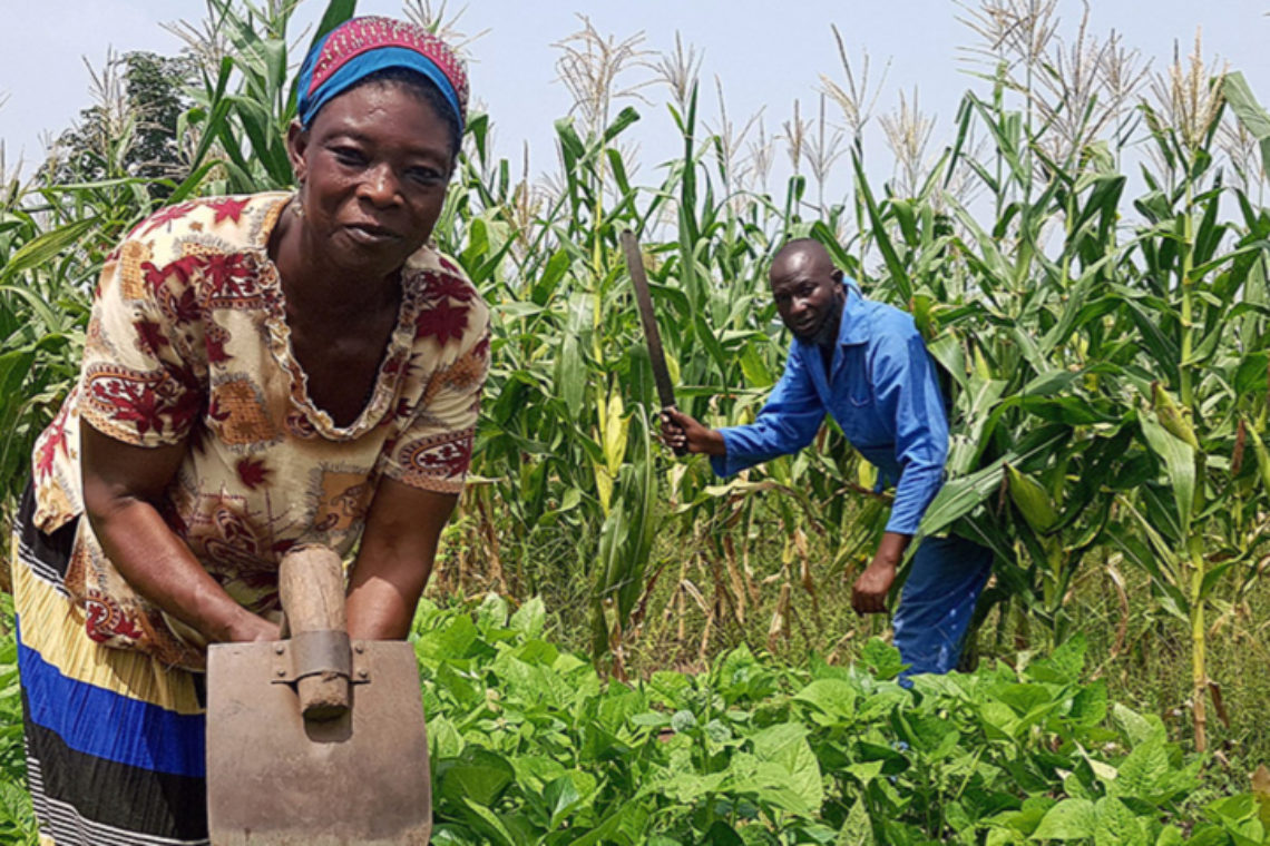 Women farmers ending hunger