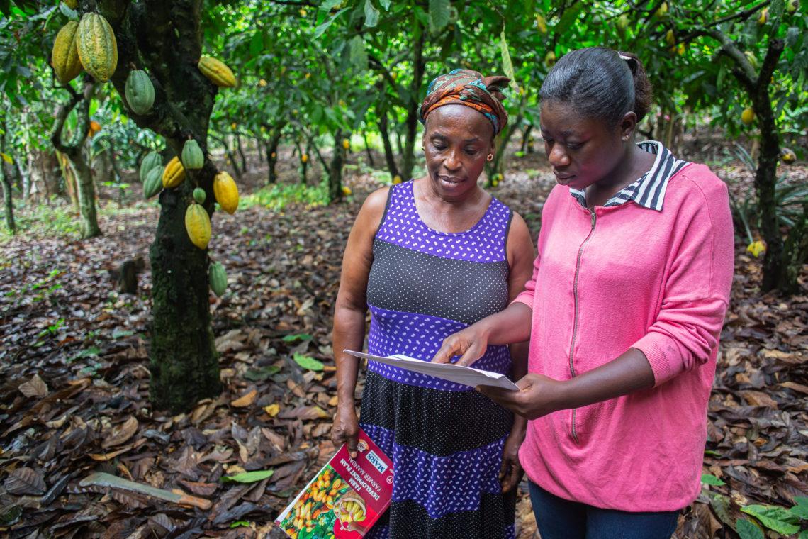 Joyce Kyei  With Community Agent