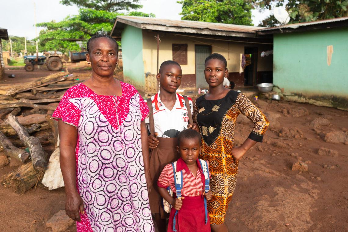 Joyce Kyei With Family