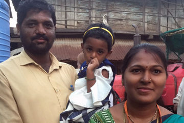 Sindhu and family