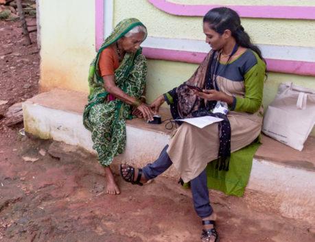 Grameen Mittra helping client